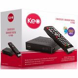 Conversor Digital Gravador Pequeno Keo Hd Tv Portatil