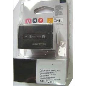 Bateria Np-fv100 Sony + Carregador