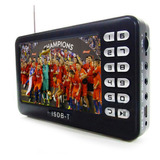 Mini Tv Digital Portatil Lcd 4.3 Pulgadas Y Radio Fm Recarg