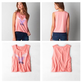 Remeras Sin Mangas American Eagle Abercrombie Hollister