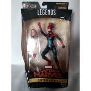 Capitana Marvel  Marvel Legends Hasbro