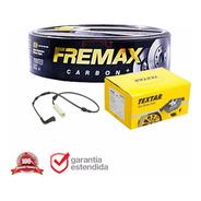 Pastilha De Freio Traseira + Disco + 1 Sensor Bmw 320 2014