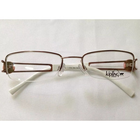 Armação De Óculos De Grau Kipling Kp1033 Branco