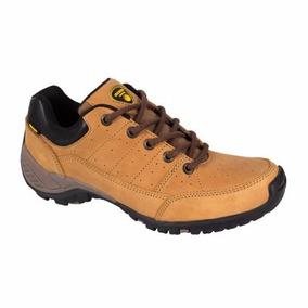 Zapato Hiker Piel Todo Terreno Campismo Outdoor Msi + Envíog