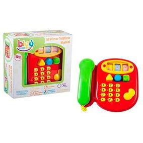 Mi Primer Teléfono Musical Biyú Bebés B-6185 Colibrí Games