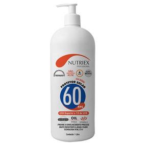 Protetor Solar Fps 60 1,0l Bisnaga Nutriex