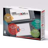 New Nintendo 3ds Xl Gris + Adaptador