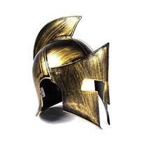 Elmo Espartano Capacete Grego Spartano Cosplay Dourado 300