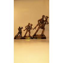 Figuras De Tango Con Baño De.bronce Ideal Souvenir