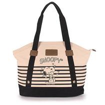 Bolsa Shopping Bag Snoopy Semax - Preto U