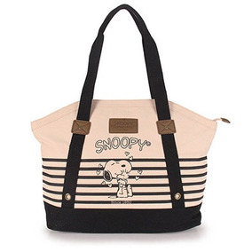 Bolsa Shopping Bag Snoopy Semax - Preto U