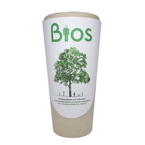 Urna Funeraria Bios Mascota Humano Biodegradable Ecológica