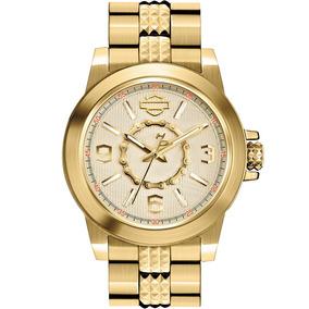 Reloj Harley Davidson Strap 77l103 Tienda Oficial Bulova