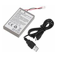 Bateria E Cabo Para Controle De Ps4 / Playstation 4