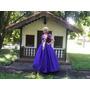 Fantasia Princesa Rapunzel Novo Modelo Adulto