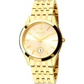 16afe0a071e Relogio Technos Dourado Feminino Joia - Relógios De Pulso no Mercado ...