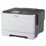 Impresora Laser Color Lexmark Cs510de Duplex Red Doble Faz
