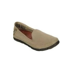 Crocs Panchas Stretch Sole Flat W Mujer Tumbleweed Beige
