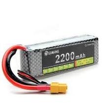 Bateria Lipo 11.1v 2200mah 30c Trex 450 Phamton 1 Fc40 Cx20