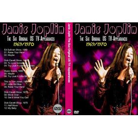 Dvd Janis Joplin The Six Original Us Tvappearances 1969-1970