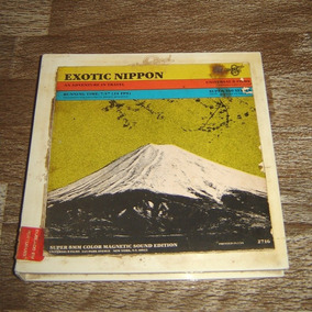 Super 8mm Antigo Filme Exotic Nippon Raridade