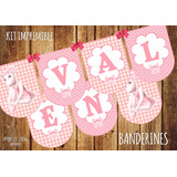 Kit Imprimible Decoración: Angelina Ballerina
