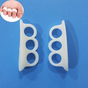 Kit C 6 Pares Separador De Dedos Apoio - Ideal Para Corrida