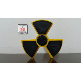 Fidget Hand Spinner Modelo Radioativo