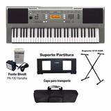 Teclado Piano Yamaha Psr E353 Base + Estuche + Usb Citimusic