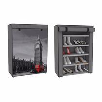 Zapatera Funda Big Ben Londres 5 Repisas 15 Pares Zapatos