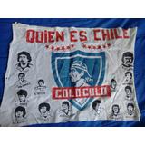 Bandera Ochentera Colo Colo