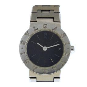 f72729350b7 Relógio De Pulso Feminino Bvlgari Todo Em Aço J17292