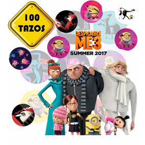 100 Tazos Mi Villano Favorito 3 + Regalo Y Envio Gratis