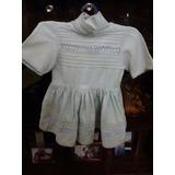 Vestido Antiguo Nena, Bebé O Muñeca - Fiesta O Bautismo