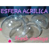 Esferas Acrilicas Transparentes X 100