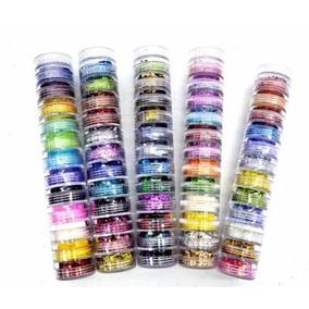 Kit C/ 12 Glitters Para Decoração De Unhas (torre)