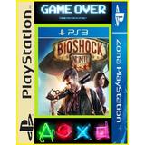 Bioshock Infinite + Sonic Adventure Ps3 (game Over)