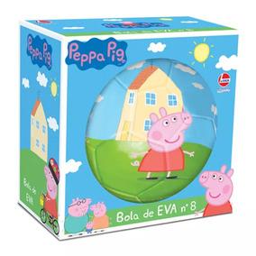 39a6f88dee Bola Peppa Pig Eva - Jogos no Mercado Livre Brasil