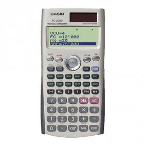 Calculadora Fin Casio C/ Monitor De 4 Linhas Fc-200v S/frete