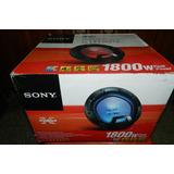 Subwoofer Xplod Xs-ledw12 30cm 1800w De Potencia Sony