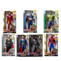 Kit 2 Boneco Vingadores Marvel The Avengers 30 Cm