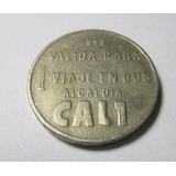 Moneda Un Desepaz 1993 Alcaldia Cali Colombia *