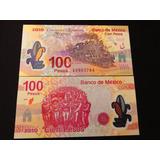 Billete 100 Pesos Centenario De La Revolucion Nuevo Serie A