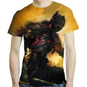 Camisa Game Camiseta Dark Souls 3 - Estampa Total Mod 3
