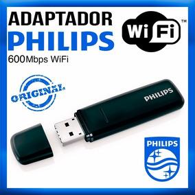 Receptor Adaptador P/ Tvs Smart Philips Wi-fi Usb Pta127/55