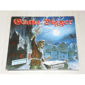 Cd Grave Digger - Excalibur 1999 (alemão Digipack + Bônus)