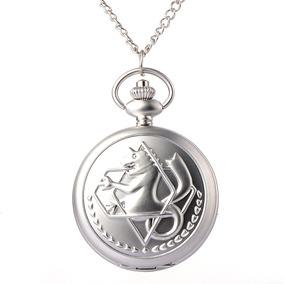 Reloj De Bolsillo Full Metal Alchemist/ Kiwii Regalos