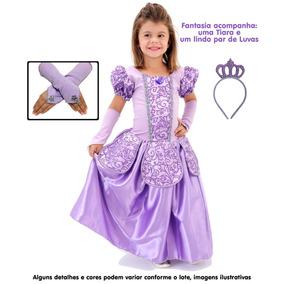 199f2b3876 Vestido Lilas Longo, Com Bordado!! - Brinquedos e Hobbies no Mercado ...