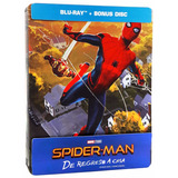 Spider-man De Regreso A Casa Homecoming Steelbook Blu-ray