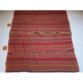 Antiguo Aguayo / Mantas De Telar / Puyos Originario De Cuzco